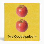 2 buenas manzanas = 1 gran par por SRF