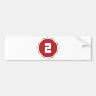 ## 2 ## BUMPER STICKER