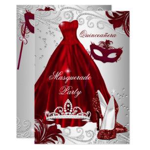 Masquerade Quinceanera Invitations Zazzle
