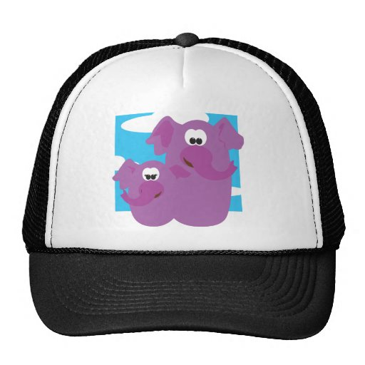 2 by 2 mesh hat