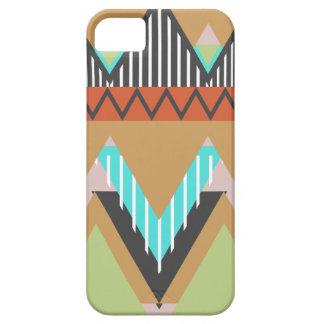 2 caja tribal terrosa de la casamata del iPhone 5 Funda Para iPhone SE/5/5s