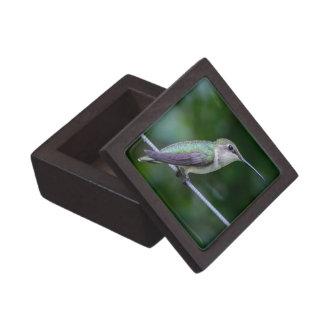 """2"""" cajas superiores cuadradas de la baratija de la caja de recuerdo de calidad"""