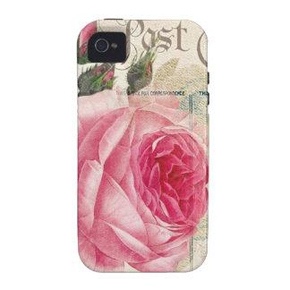 (2) caso DURO del iPhone 4 color de rosa iPhone 4 Carcasa
