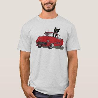 2 Cats Joy Riding Men's Tshirt