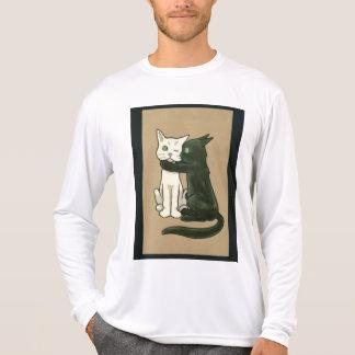 2 cats tshirt