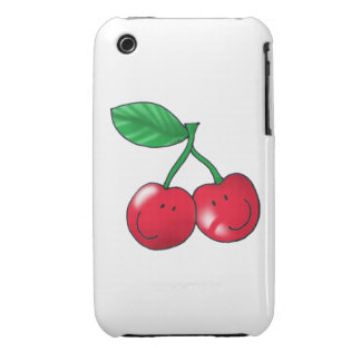 2 cerezas carcasa para iPhone 3