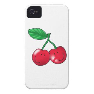 2 cerezas funda para iPhone 4 de Case-Mate