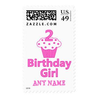 2 - Chica del cumpleaños - diseño de la magdalena Franqueo