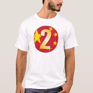 2 CHINA Gold T-Shirt