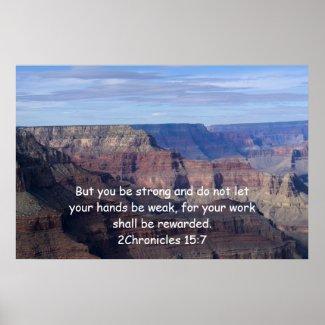2 Chronicles 15:7 print