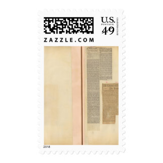 2 Clippings Postage Stamps