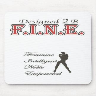 2 cojín de ratón diseñado de B F.I.N.E. Tapetes De Ratones