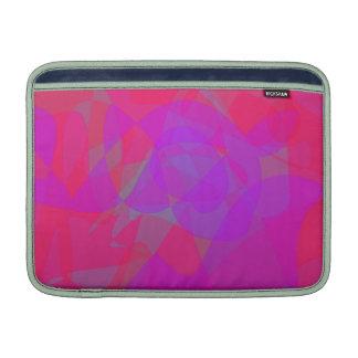 2 color de rosa fundas MacBook