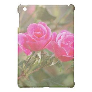 2 color de rosa grabados en relieve