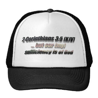 2 Cor 3:5 Trucker Hat