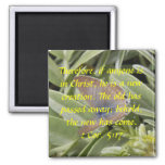 2 Cor. 5:17 Butterfly Magnet