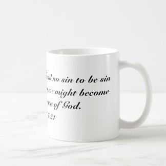 2 Cor 5:21 Coffee Mug