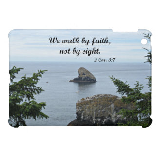 2 Cor. 5:7 We walk by faith and not by sight Cover For The iPad Mini