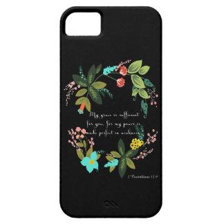 2 Corinthians 12:9 iPhone SE/5/5s Case