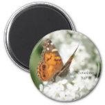 2 Corinthians 5:17 Butterfly Lilac Magnet