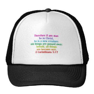 2 Corinthians 5:17 English Trucker Hat