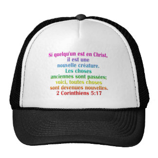 2 Corinthians 5:17 French Trucker Hat