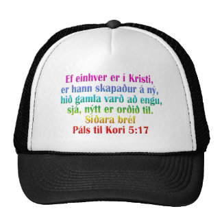 2 Corinthians 5:17 Icelandic Trucker Hat