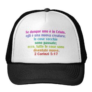 2 Corinthians 5:17 Italian Trucker Hat