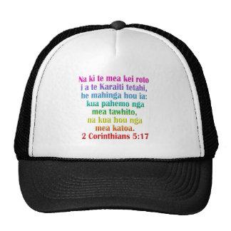 2 Corinthians 5:17 Maori Trucker Hat