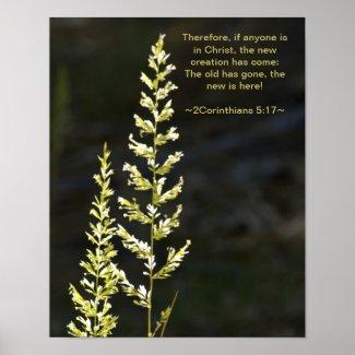 2 Corinthians 5:17 Posters