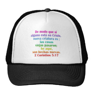 2 Corinthians 5:17 Spanish Trucker Hat