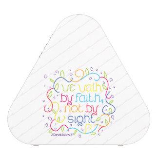 2 Corinthians 5:7 We walk by faith, not by sight. Bluetooth Speaker