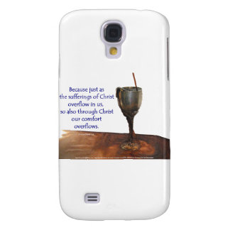 2 Corithians Overflowing Chalice / Suffering Samsung S4 Case