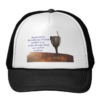 2 Corithians Overflowing Chalice / Suffering Trucker Hat