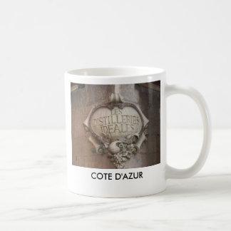 2, COTE D'AZUR TAZA DE CAFÉ