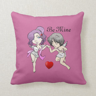 2 Cupids Valentine Pillow