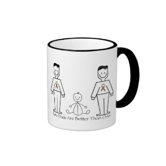 2 Dads Are Better Than One Mugs
