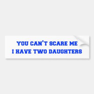 2-daughters-freshman-blue.png car bumper sticker