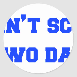 2-daughters-freshman-blue.png classic round sticker