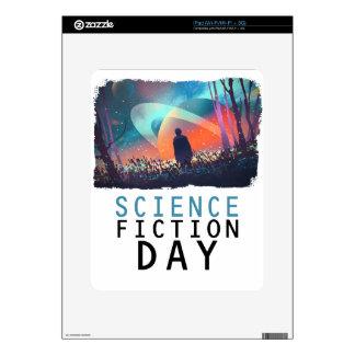 2 de febrero - día de la ciencia ficción calcomanía para el iPad