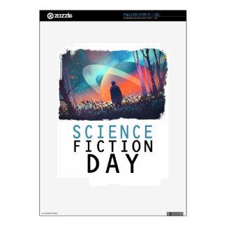 2 de febrero - día de la ciencia ficción calcomanías para el iPad 2