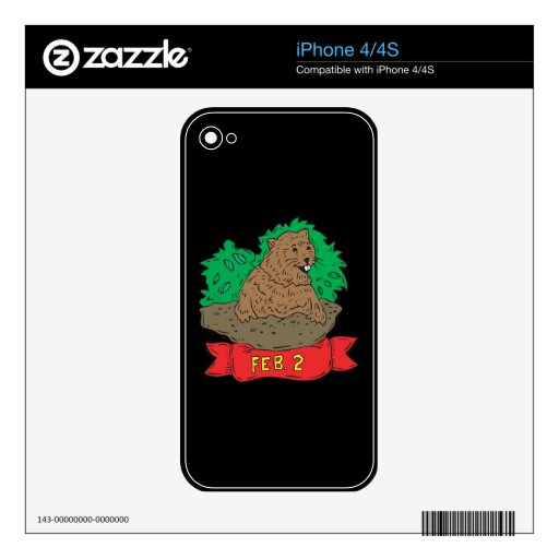 2 de febrero iPhone 4 skin