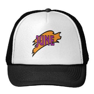 2 de junio gorras