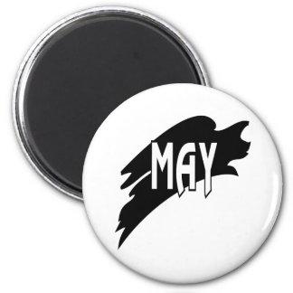 2 de mayo imán redondo 5 cm