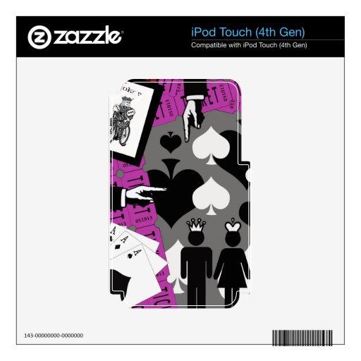 2 de un rosa bueno iPod touch 4G skins