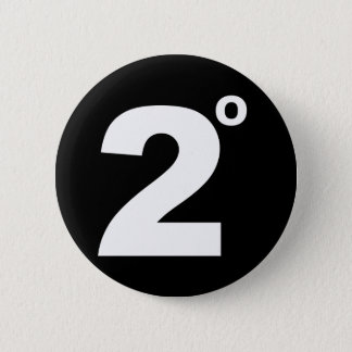 2 degrees of climate change button