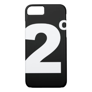 2 degrees of climate change iPhone 7 case