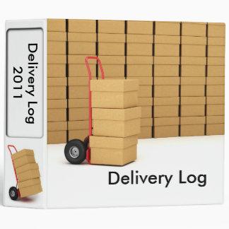 """2"""" Delivery Log Binder"""