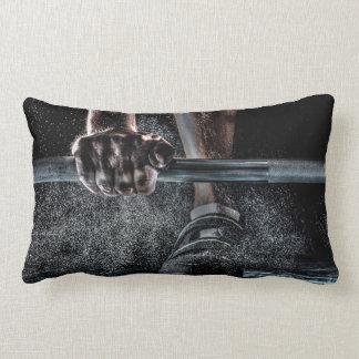2 Designs Lift Weights Lumbar Pillow