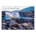 2. Día impresionante del St Patty de Irlanda de la Tarjeta De Felicitación